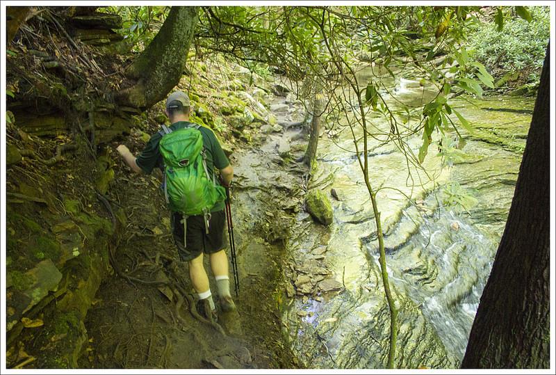 Devils Bathtub Virginia Trail Guide