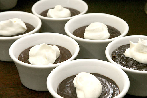 Chocolate Pots de Creme on www.virginiawillis.com