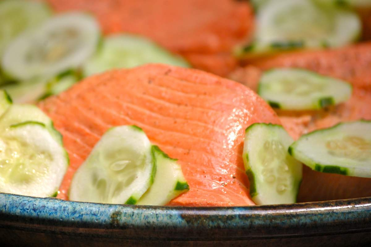 sustainable seafood and salmon recipes on www.virginiawillis.com