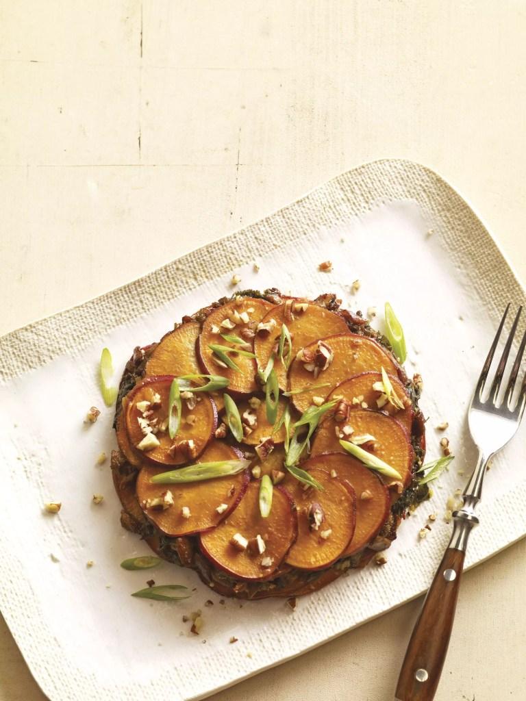 sweet potato galette