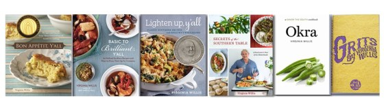 cookbooks on www.virginiawillis.com
