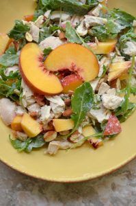 Read more about the article Peachy Keen Chicken Salad