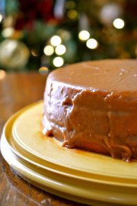 Old-Fashioned Caramel Cake