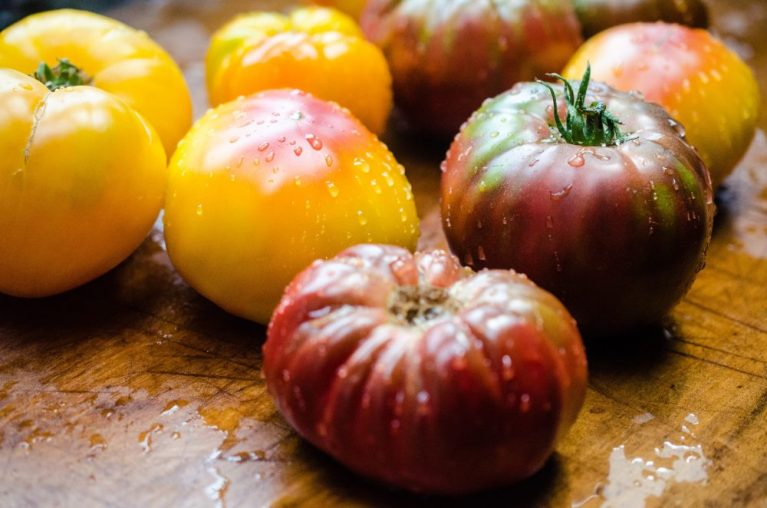 Tomato recipes on www.virginiawillis.com