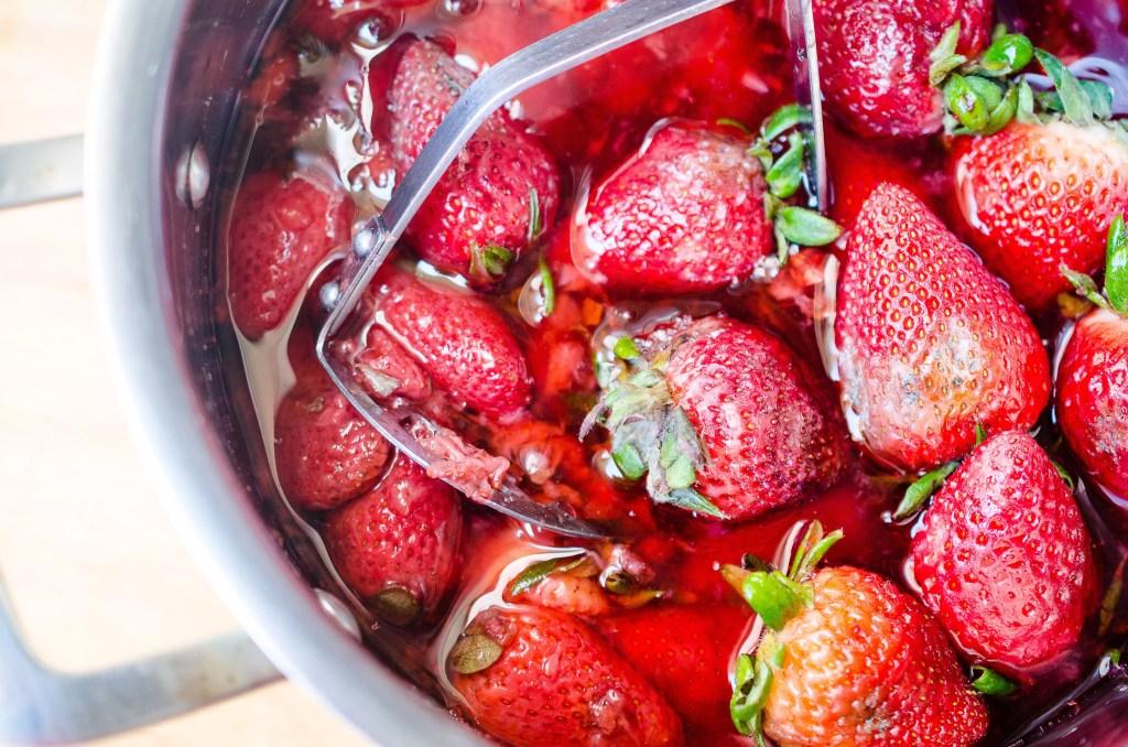 Strawberry Shrub on virginiawillis.com