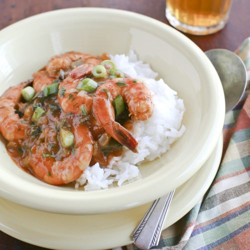 Weeknight Supper: Smoky Shrimp Etoufee