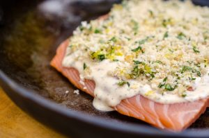 Read more about the article Cooking with Virginia: Crunchy Creole Ranch Salmon
