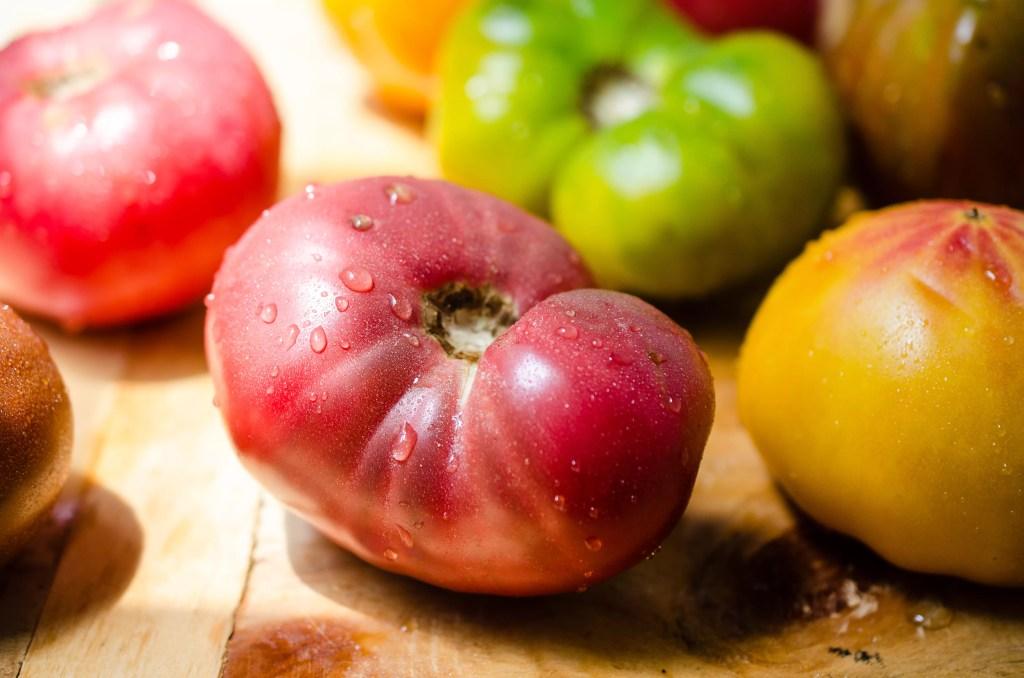 Summer Vegetable Stuffed Tomatoes