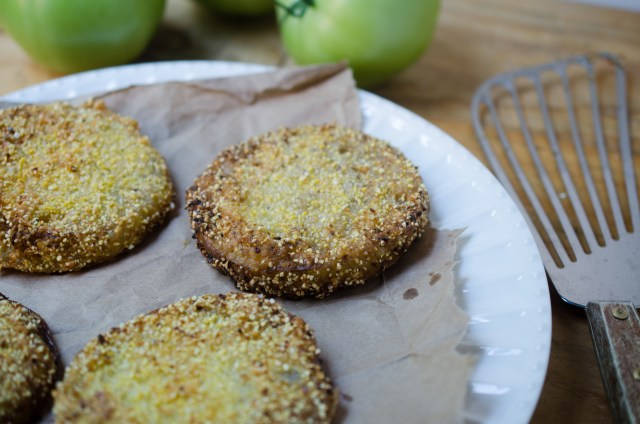 Old Fashioned Fried Green Tomatoes