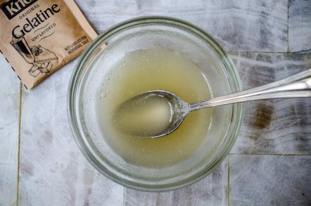 how to use gelatin powder