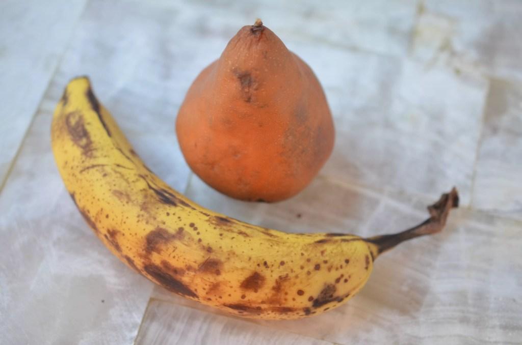 GF Pear Banana Almond Muffins