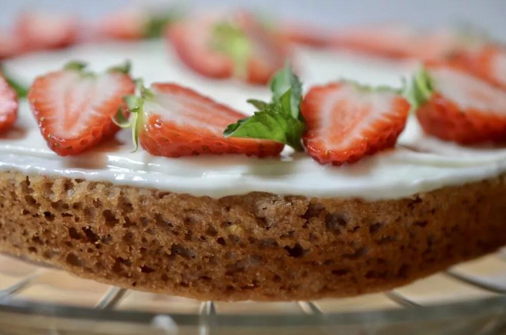 Strawberry Buttermilk Cake