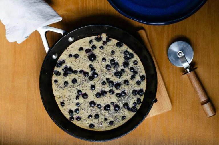 Baked Oat Pancake
