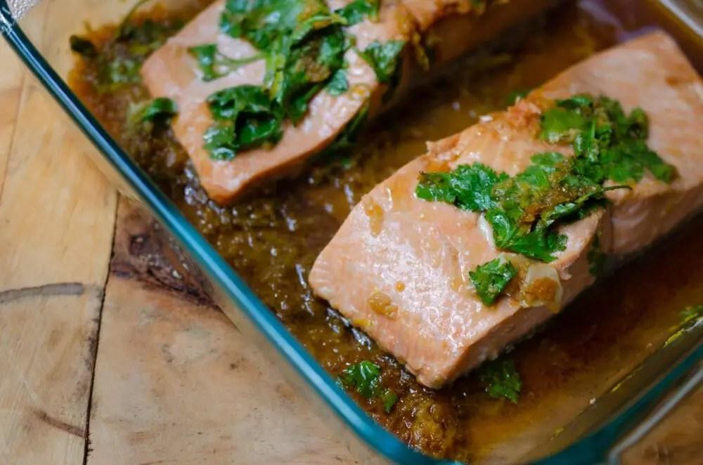 Five Minute Salmon