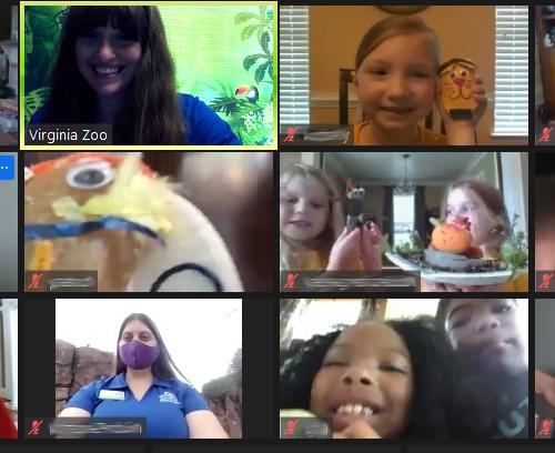 virtual zoo camp meeting
