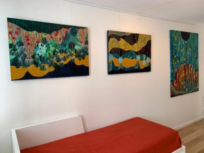 Virginie Gallois, Peintures et dessins, Place Ronde, Juin 2019