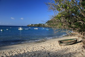 Locals love Hull Bay in St. Thomas for its surfing, sand and water.