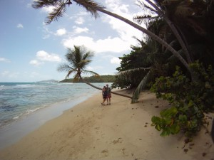 Neltjeberg Beach is a secluded St. Thomas beach on the Northside of the Island