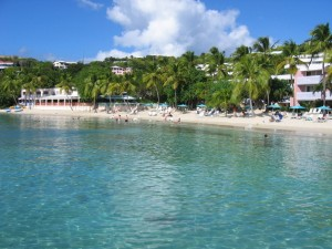 Secret Harbor in St. Thomas