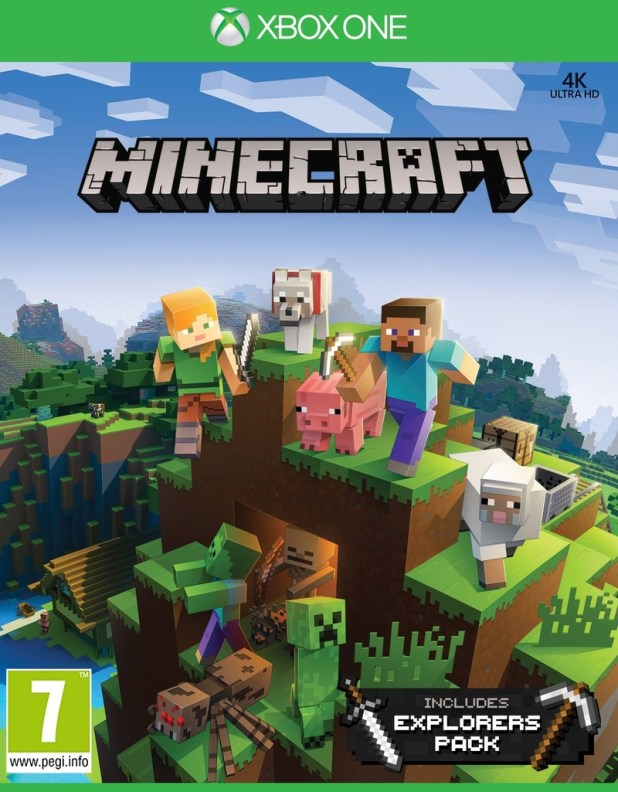 Minecraft Games Xbox One Bollaco - Minecraft edition spiele