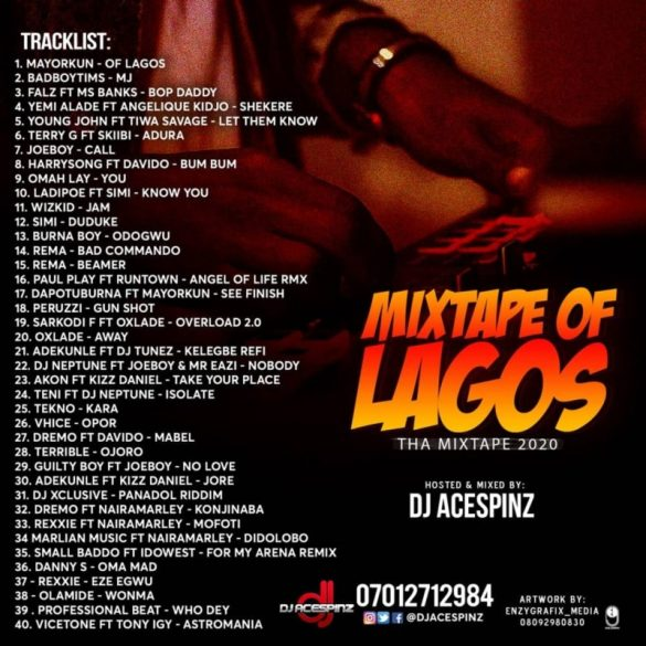 Dj Ace Spinz – Mixtape Of Lagos