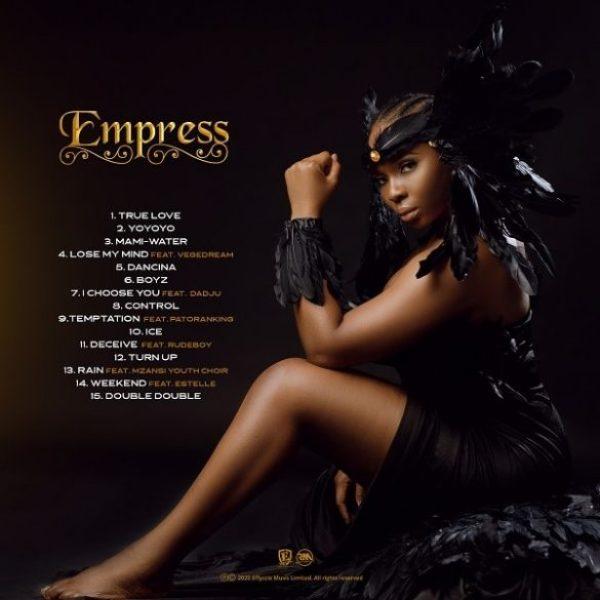 "Yemi Alade ""Empress"" album artwork and tracklist"