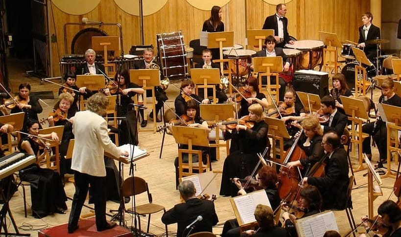 orchestra recording