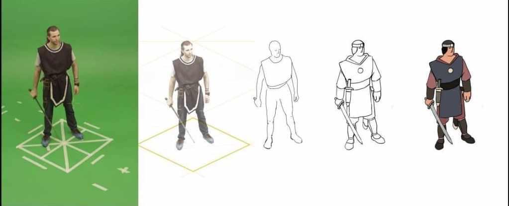 rotoscopio: da foto ad animazione