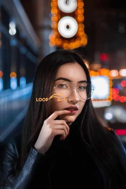 come fare selfie luce loop