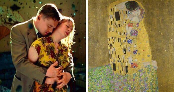 cinema e pittura: Shutter Island, Martin Scorsese. Il Bacio, Gustav Klimt