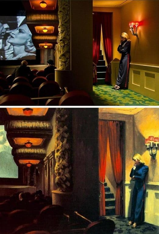 cinema e pittura: Shirley: visioni della realtà, Gustav Deutsch. Film di New York, Edward Hopper.