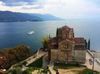 Ohrid - St Jovan of Kaneo Monastery