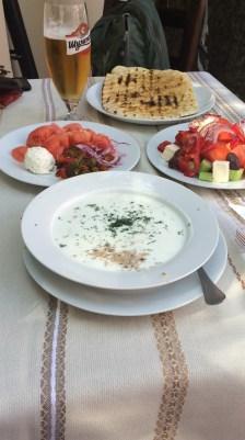 Bulgarian Tarator - cold yoghurt soup - delicious!