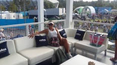 This tennis is hard work!