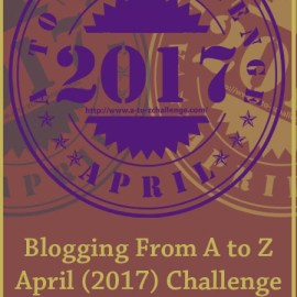 News and features during the A to Z Challenge 2017
