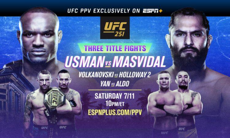 UFC 251: Usman vs Masvidal