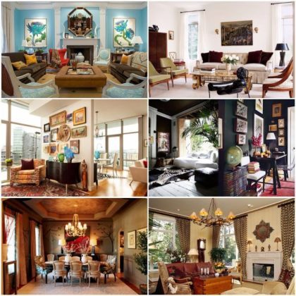 Tips and ideas for eclectic interior design style   Virily
