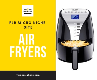 Air Fryers plr website