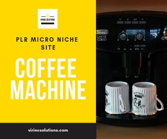 Ready Made Affiliate Website - Coffee Machines