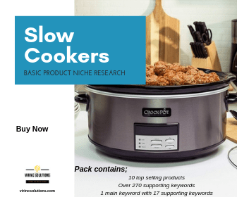 Slow Cooker Micro Niche Products