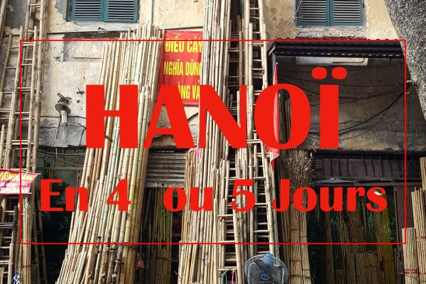 HANOI : 5 jours