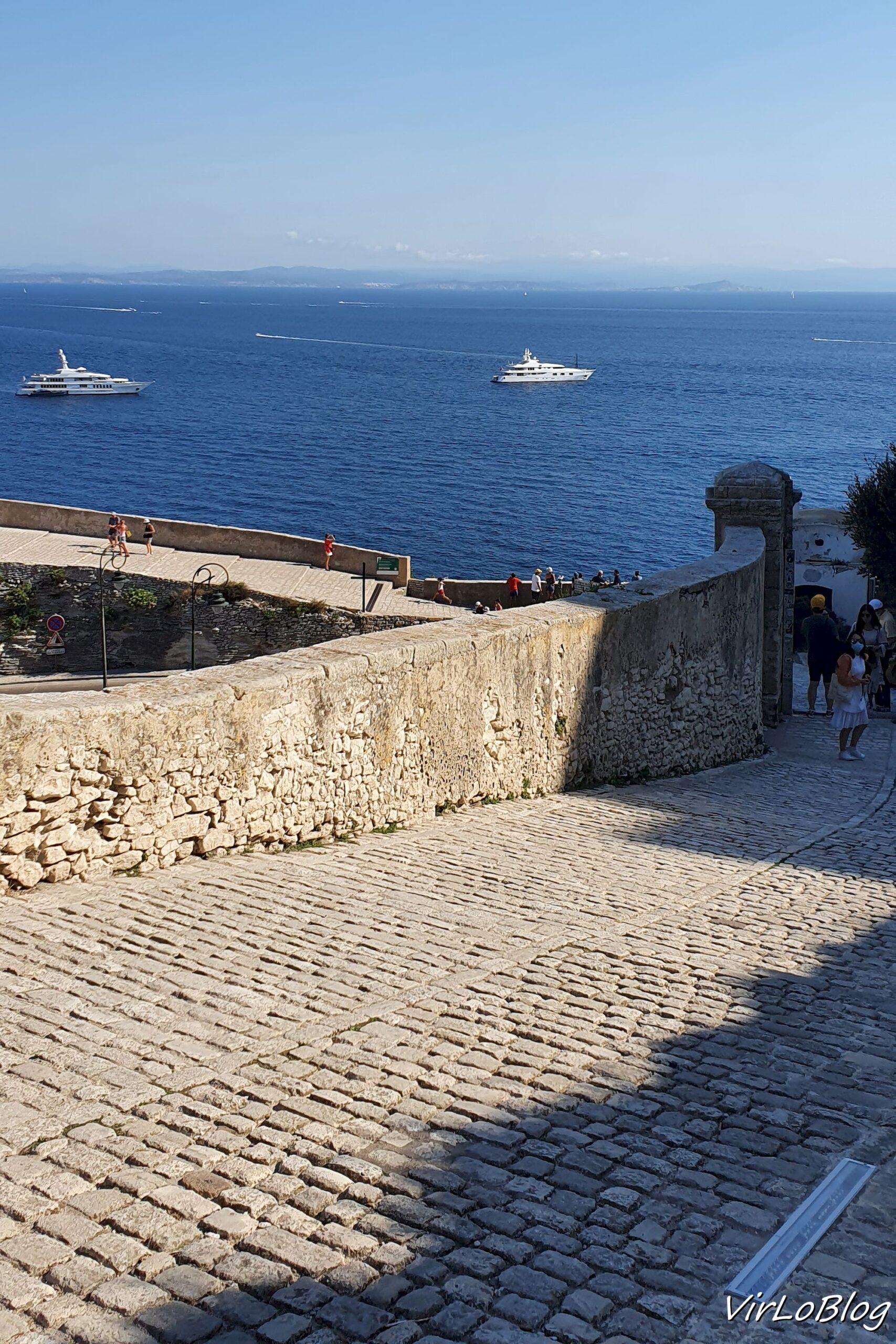Montée Saint Roch Bonifacio