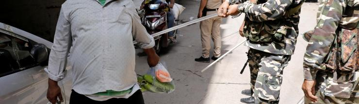 India's coronavirus lockdown is bringing out the worst in its police force