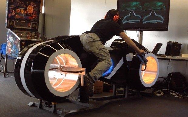 Финальная версия Oculus Rift Trone