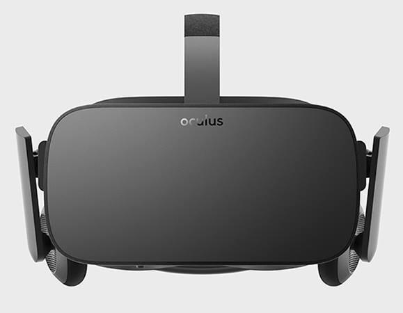 Внешний вид Oculus Rift