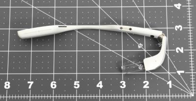 Google Glass Enterprise Edition вид сверху