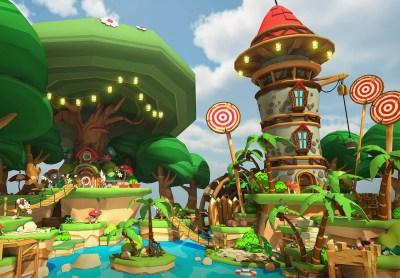 Скриншот из игры Luckys Tale