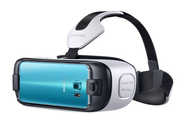 Шлем виртуальной реальности для смартфона Gear VR Innovation Edition