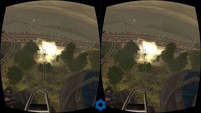 VR blockbuster attraction