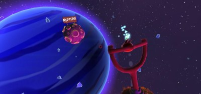 angry birds space vr скрин 1
